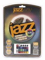 Jazzway Лента PLS-BL5.0 RGB 5050/30 IP20
